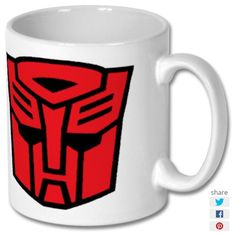 New product 'Super Hero Captin Autobots Printed Mug' added to East Yorkshire Gifts! - £6.99