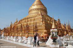 Main temples Bagan Myanmar 2016