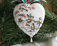 Decoupage ornament