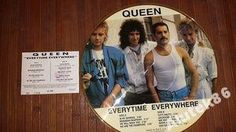 QUEEN - EVERYTIME EVERYWHERE - PICTURE UK