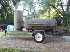 Home built BBQ Smoker