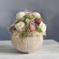 KvetinovyObchodik / Celoročná dekorácia Kytička ružovo-krémová Easter, Spring, Decor, Decoration, Easter Activities, Decorating, Deco