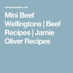 How to make mini beef wellingtons: golden puff pastry wrapped around tender beef tenderloin, dijon mustard, mushrooms, and prosciutto. Mini Beef Wellington, Beef Fillet, Vegetable Puree, Football Food, Romantic Dinners, Jamie Oliver, Beef Recipes, A Food, Helpful Hints