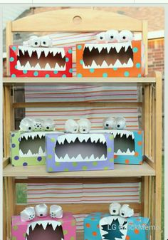 Monster Kleenex boxes