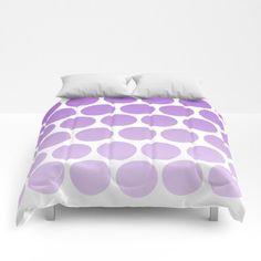 "I added ""Purple Polka Dot Comforter Ombre Shades by Shelley"" to an #inlinkz linkup!https://www.etsy.com/listing/475935082/purple-polka-dot-comforter-ombre-shades?ref=teams_post"