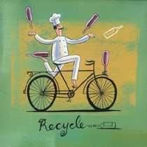 Ha ha.. African Art Paintings, Original Paintings, Bicycle Painting, South African Artists, Africa Art, In Vino Veritas, Le Chef, Artist Gallery, Kitchen Art