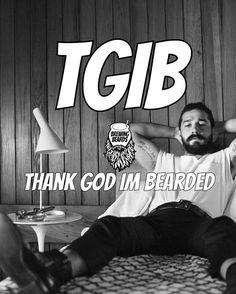 "Beard Motivation on Instagram: ""☕ Beard motivation ~~ TGIB ~~ Visit BrewingBeards.com #BrewingBeards #uygp #BrewingBeardsmen #beard #beardgang #beards #bearded…"""