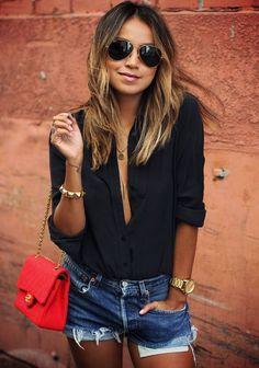 Europe Women Blouse Boyfriend Shirt Long Sleeve Chiffon Blouses Large Size Casual Black Shirts Women Sexy V Neck Blouses Blusa