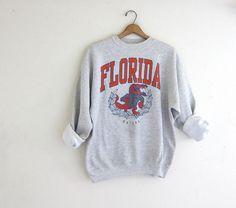 Vintage Florida Gators basketball sweatshirt // University of Florida sports sweatshirt