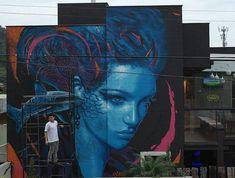 Stunning Urban Art by Artist Valdi Valdi > Follow for more updates @ http://ift.tt/1tcr3ea Follow us on Facebook http://ift.tt/1ZBR6Ym