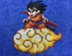 Goku Hama Hama Beads by Hamamia on deviantART