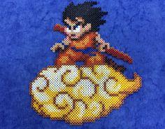 Goku Hama Hama Beads by Hamamia on deviantART