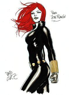 Black Widow by David Lopez