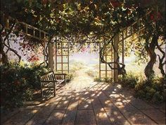 ''The Garden'' by Akiane - YouTube