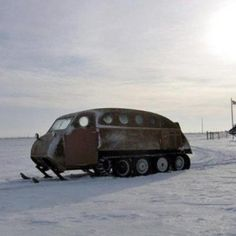 """Snow Vehicle - if we get anymore snow this'll go from an """"I WANT"""" to an """"I NEED!"""""""