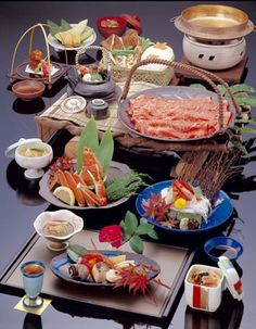 Japanese food, Delicious Japanese food