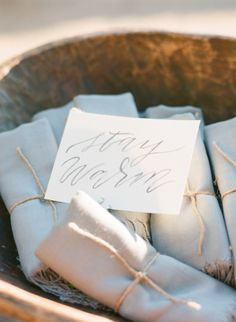 Romantic Ivory + Grey Ojai Valley Inn Wedding