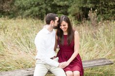 Jennifer + Rob | A Perfect Cabell's Mill Park Engagement | Candice Adelle Photography | DC MD VA Destination Wedding & Family Photographer