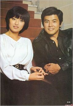 Yamaguchi Momoe and Tomokazu Miura