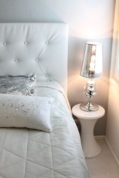 Home White Home <3 gotta have this white headboard..