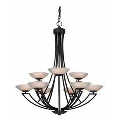 Dolan Designs Delany 9 Light Chandelier