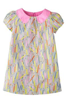 Mini Boden Print Dress (Toddler Girls, Little Girls & Big Girls) available at #Nordstrom