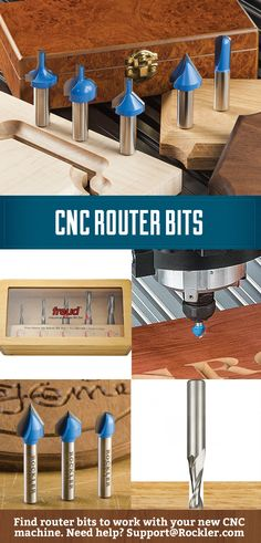 Router bits that will work with CNC machines. If you need help figuring out what…