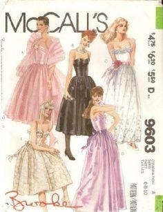 easy sew prom dress patterns