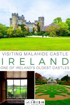 Visiting Malahide Castle, Dublin - Everything You Need to Know Europe Destinations, Europe Travel Tips, European Travel, Clayton Hotel, Best Of Ireland, Beautiful Castles, Ireland Travel, Best Vacations, Travel Around The World