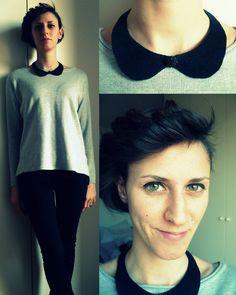 DIY collar necklace (by Misa R.) http://lookbook.nu/look/4566469-DIY-collar-necklace
