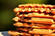 Gluten-Free Walnut Oat Waffles.