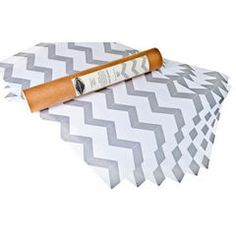 grey chevron drawer liners