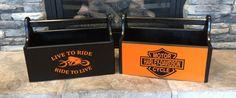 Harley-Davidson Storage Box | Harley Davidson wooden box, magazine storage…