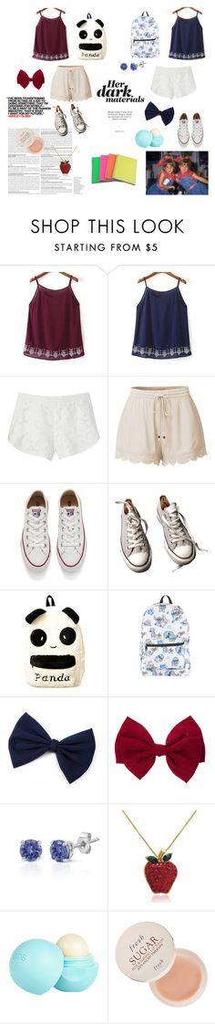 """""""Mary-Kate and Ashley. Inspired"""" by ananyakochhar on Polyvore featuring Olsen, Rebecca Minkoff, LE3NO, Converse, Disney, Effy Jewelry, Amanda Rose Collection, River Island and Fresh"""