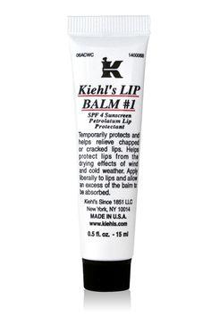 kiehls lip balm - love it except whenever I buy it, I lose it. :-(