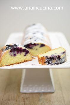 Air Cook Blog: Kleiner Joghurtkuchen und Heidelbeeren