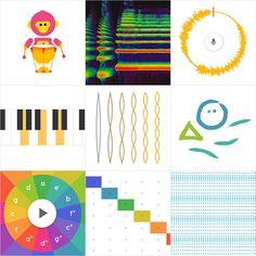 Chrome Music Lab experiment with music Preschool Music, Teaching Music, Music Words, Art Music, Online Music Lessons, Music Lesson Plans, Music Classroom, Music Teachers, Elementary Music
