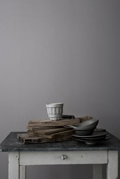 Perfect simple styling - love the different textures and the visibility of time Heidi Lerkenfeldt Kinfolk Style, Food Photography Props, Prop Styling, Different Textures, Vintage Recipes, Still Life Photography, Inspired Homes, Wabi Sabi, Food Pictures
