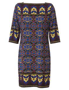 Jane Lamerton - Stained Glass Jersey Tunic