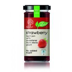 Geodi Stevia Strawberry Jam Jam Online, Strawberry Jam, Stevia, Fruit, Nature, Food, Strawberry Jelly, Essen, Naturaleza