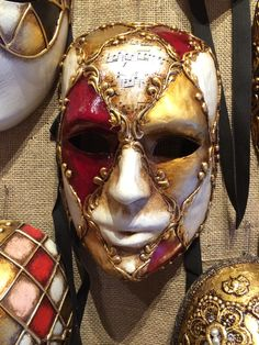 Masquerade mask from Venice.