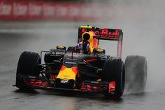 Max Verstappen at the Brazilian Grand Prix. Interlagos 2016.