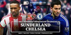 ถ่ายทอดสด ฟุตบอลพรีเมียร์ลีก ซันเดอร์แลนด์ vs เชลซี 2015-2016 HD ภาคไทย เต็มจอ