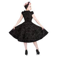 H&R Flock 9470B Dress (Black)