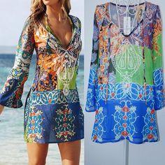 Down The Shore Tunic Dress - Summer Fashion 2016.  www.psiloveyoumoreboutique.com