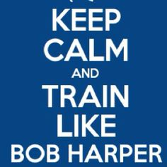 train like Bob Harper...why can't I train with Bob Harper? I know what I'd like to train with him... ;)