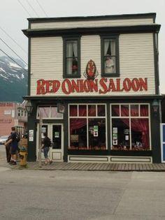 Red Onion Saloon, a former brothel - Skagway, Alaska