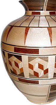 Image result for segmented woodturning