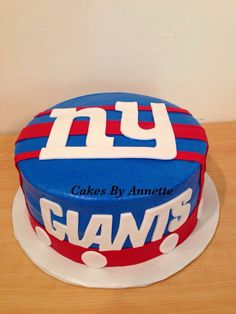 Marvelous 7 Best New York Giants Images New York Giants Giant Cake Giants Funny Birthday Cards Online Inifodamsfinfo