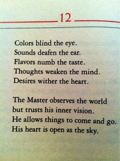 from the Tao Te Ching - be ready for the next thing whatever that may be :) Lao Tzu Quotes, Life Quotes, The Words, Samurai, Zen, Tao Te Ching, A Course In Miracles, Spiritual Wisdom, Way Of Life